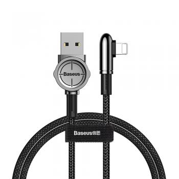 Baseus Mobile Game Spiel Ladekabel Datenkabel USB / Lightning 2.4A 1m schwarz