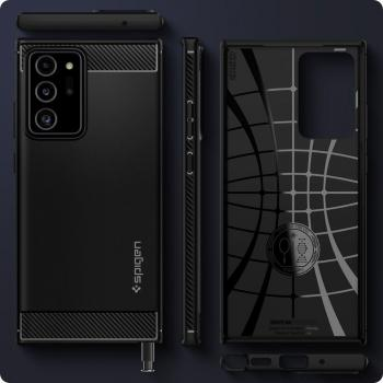 Spigen Rugged Armor Back Case Schutzhülle Samsung Galaxy Note 20 Ultra schwarz